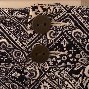 Anthropologie Shorts - Anthropologie Cartonnier Mosaic Tile Shorts (Sz 0)